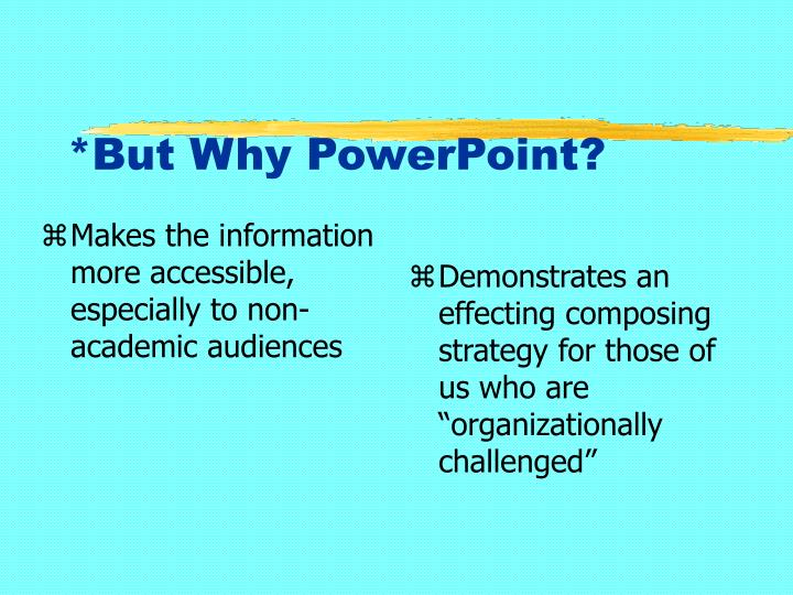 Makes the information more accessible, especially to non-academic audiences