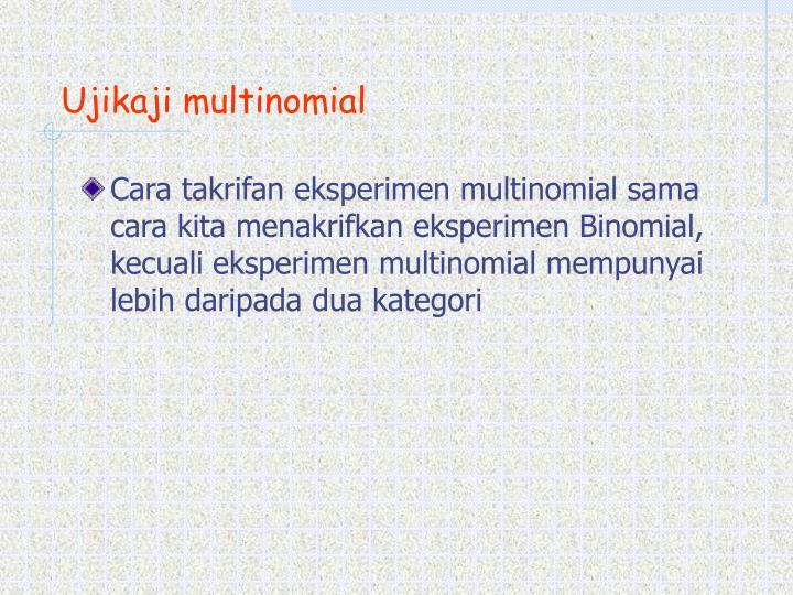 Ujikaji multinomial