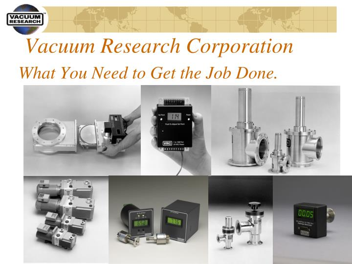 Vacuum Research Corporation