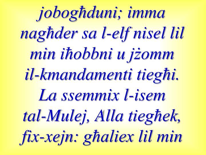 jobogħduni
