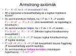 armstrong axi m k1