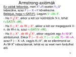 armstrong axi m k10