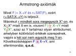 armstrong axi m k11