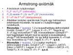 armstrong axi m k2