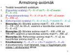 armstrong axi m k3