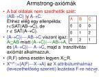 armstrong axi m k4