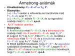 armstrong axi m k5