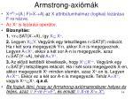 armstrong axi m k6