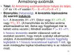 armstrong axi m k7