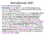 norm lform k 3nf1