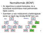 norm lform k bcnf11