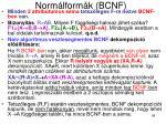 norm lform k bcnf4