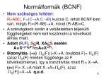 norm lform k bcnf7