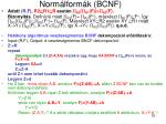 norm lform k bcnf8