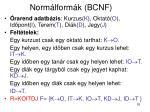 norm lform k bcnf9