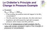 le ch telier s principle and change in pressure example