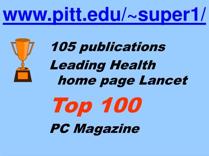 105 publications