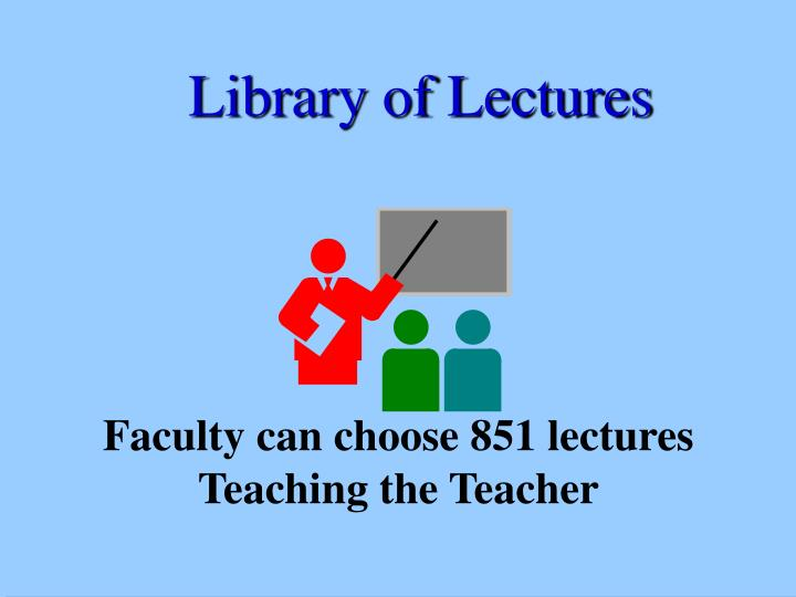 Library of Lectures