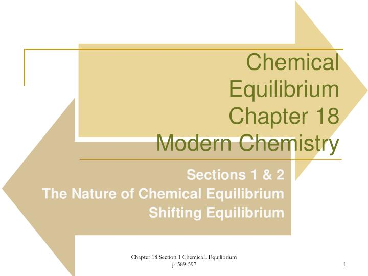 Ppt Chemical Equilibrium Chapter 18 Modern Chemistry Powerpoint. Chemicalequilibriumchapter 18 Modern Chemistry. Worksheet. Ap Chemistry Worksheet Keq Questions At Clickcart.co