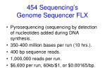 454 sequencing s genome sequencer flx