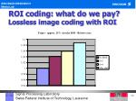 roi coding what do we pay lossless image coding with roi1