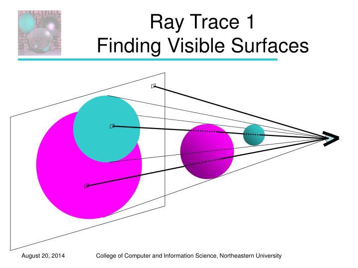 Ray Trace 1