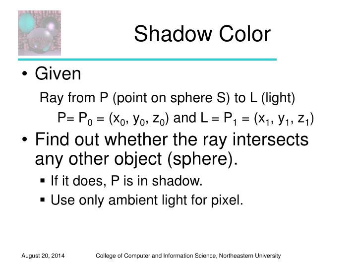 Shadow Color