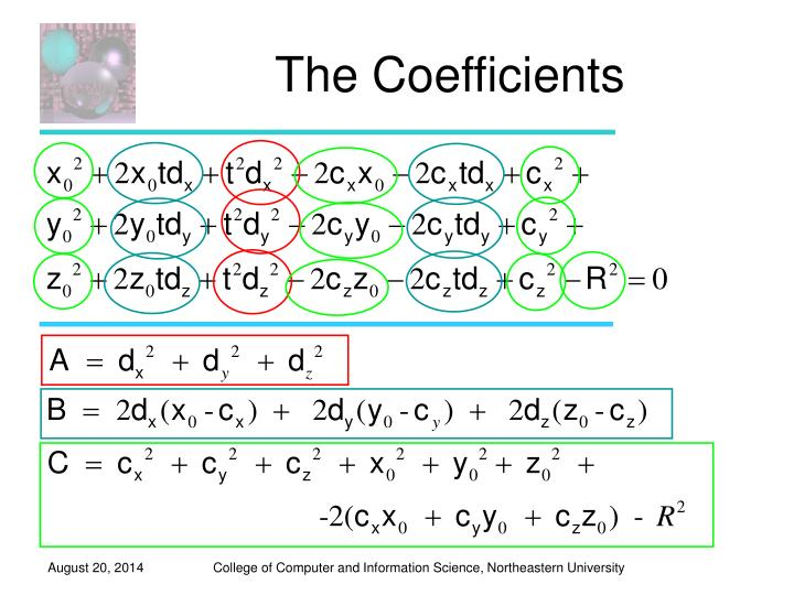 The Coefficients