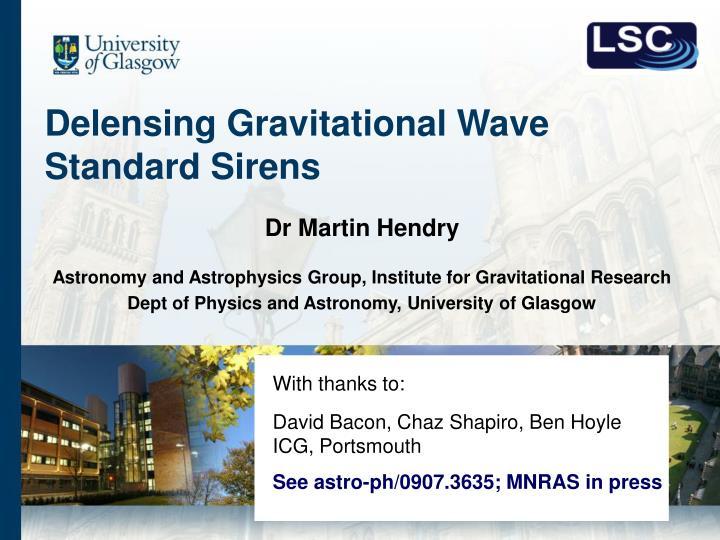 Delensing gravitational wave standard sirens1