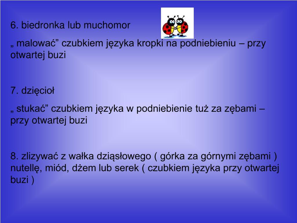 Ppt Poradnik Logopedyczny Powerpoint Presentation Free