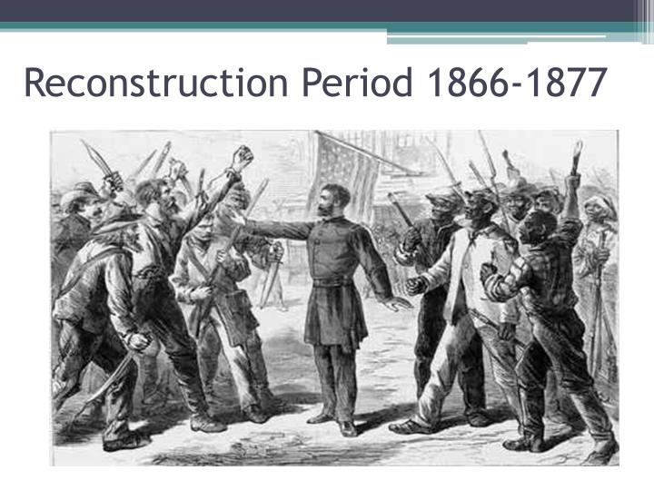 american reconstruction after the civil war Pbs announces 'reconstruction: america after the civil war,' a new documentary from henry louis gates, jr, to air spring 2019 on pbs.
