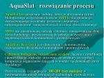 aquaslat rozwi zanie procesu