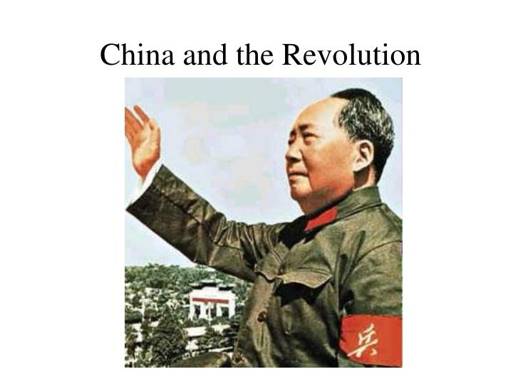 china and the revolution n.