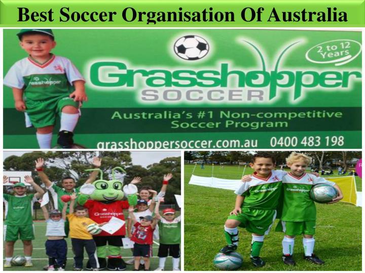 Best Soccer Organisation Of Australia