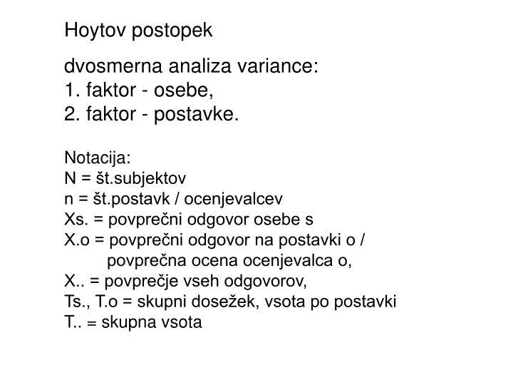 Hoytov postopek