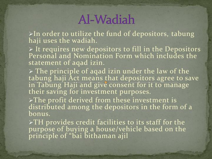 Al-Wadiah