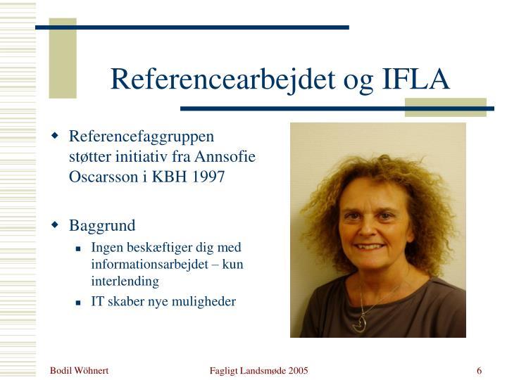 Referencearbejdet og IFLA