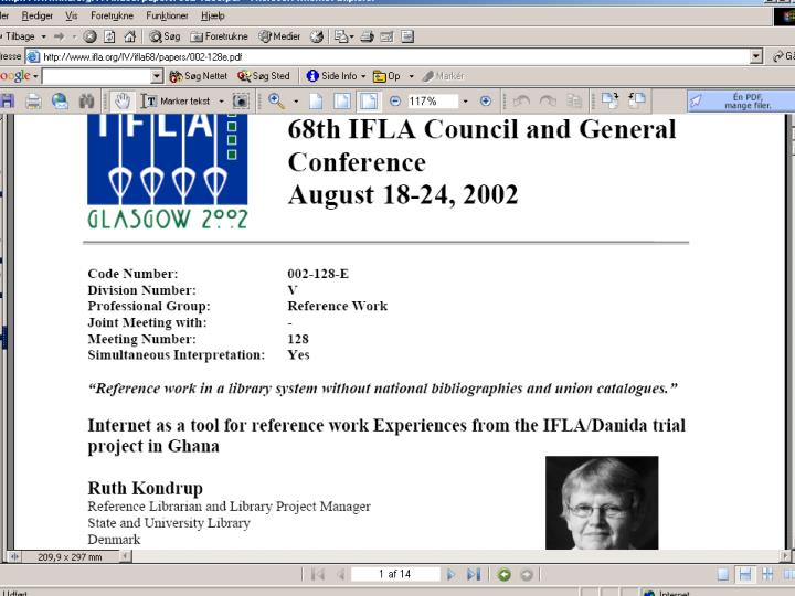Fagligt Landsmøde 2005