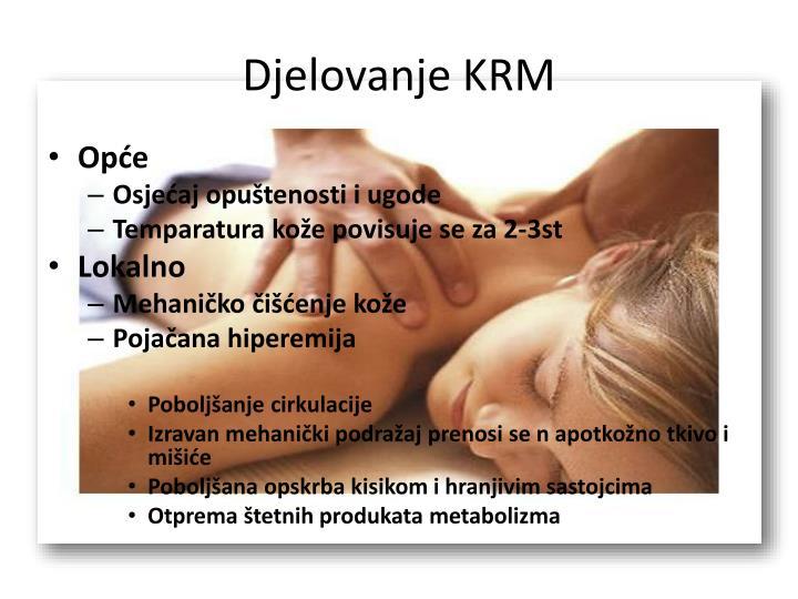Djelovanje KRM