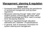 management planning regulation
