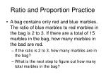 ratio and proportion practice