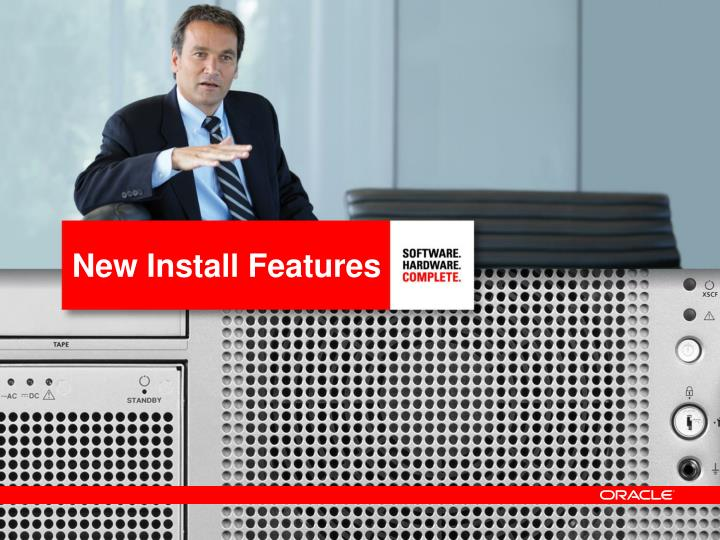 New Install Features