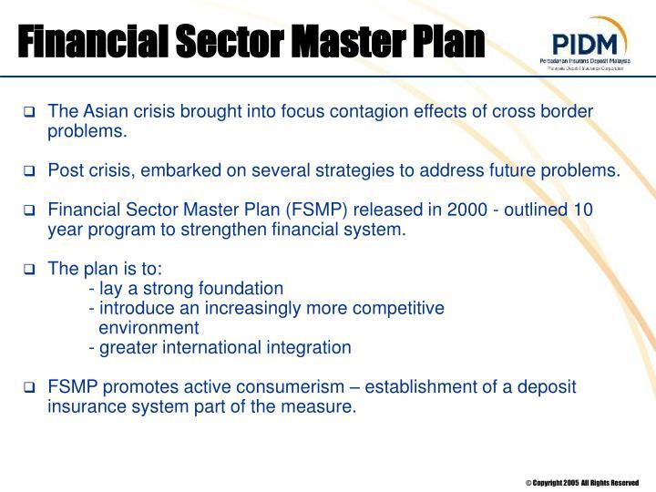 Financial Sector Master Plan