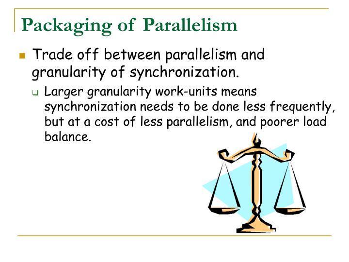 Packaging of Parallelism