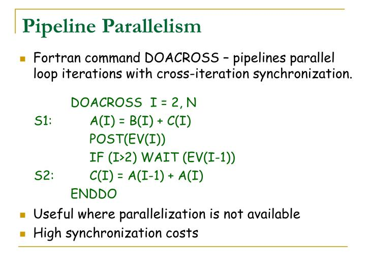 Pipeline Parallelism