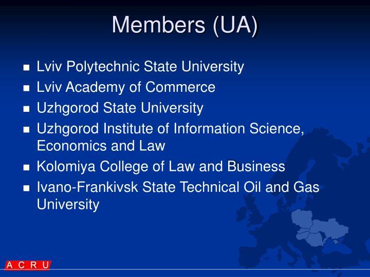 Members (UA)