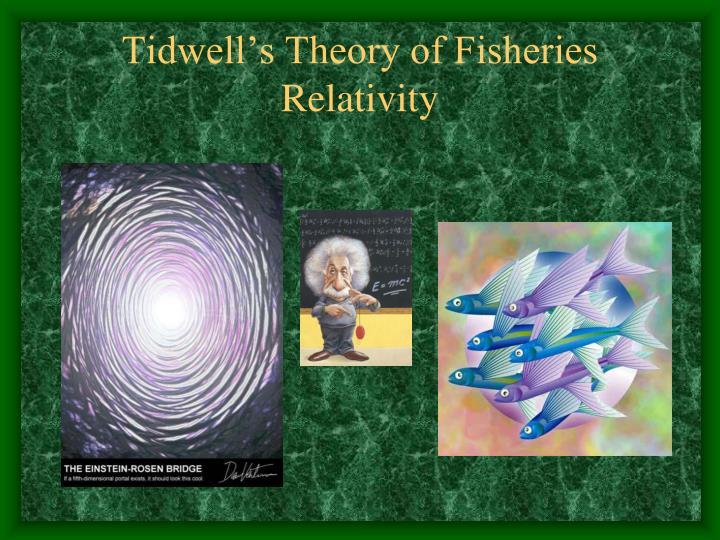 Tidwell s theory of fisheries relativity