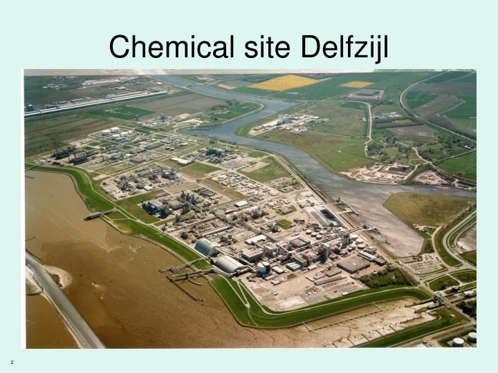 Chemical site delfzijl