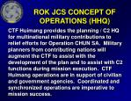 rok jcs concept of operations hhq