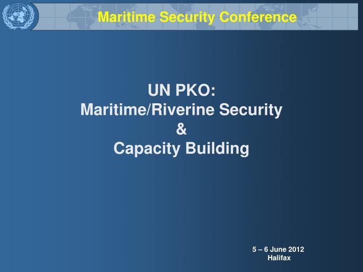un pko maritime riverine security capacity building n.